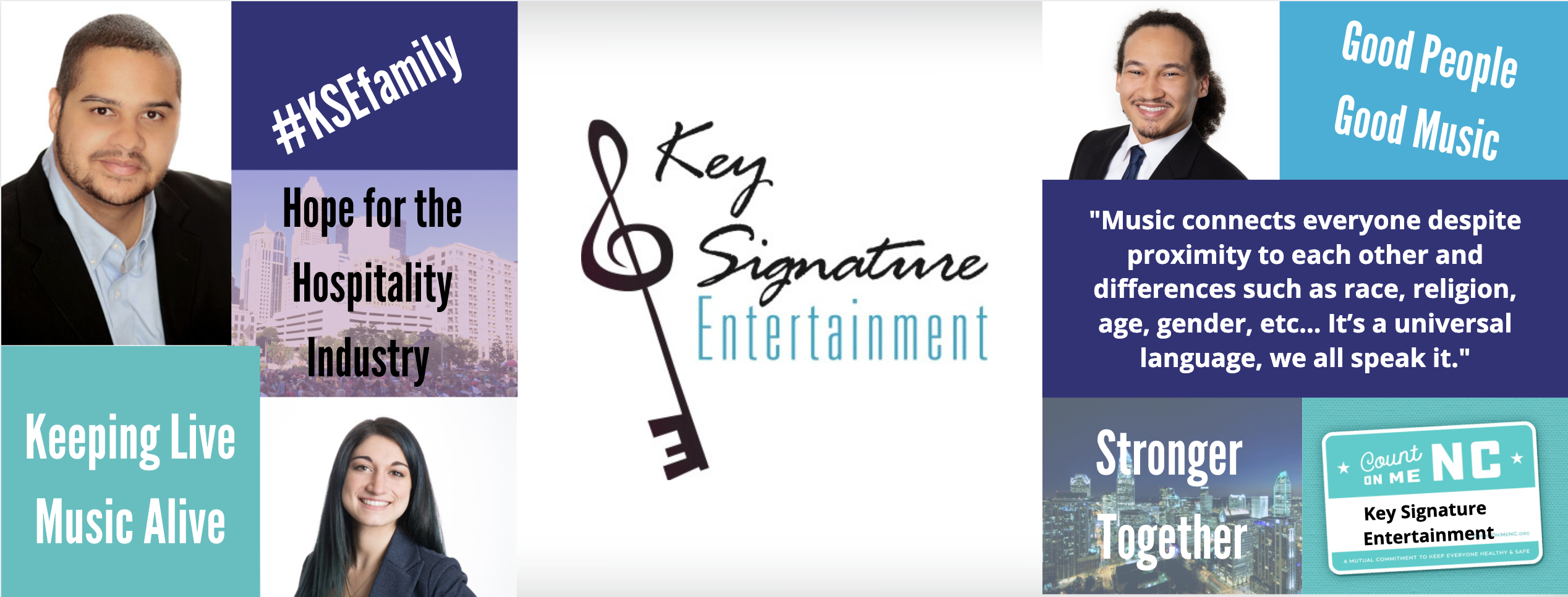 Virtual Live Music Hybrid Event Entertainment Virtual Events Key Signature Entertainment